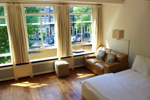 The Flat we rented at Jewel Apartments in Amsterdam ~