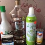 Key Lime Martini Ingredients