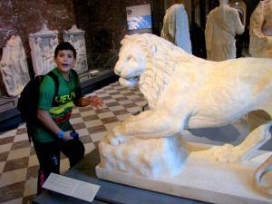 Having Fun in the Louvre