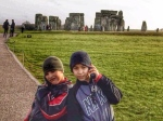 My Guys at Stonehenge